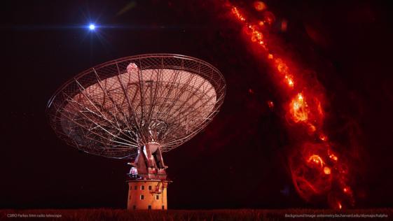 Enormes explosiones en las profundidades del Universo