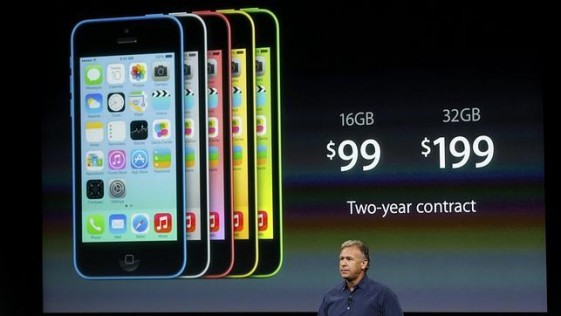 Apple presenta su nuevos iPhones 5C y 5S
