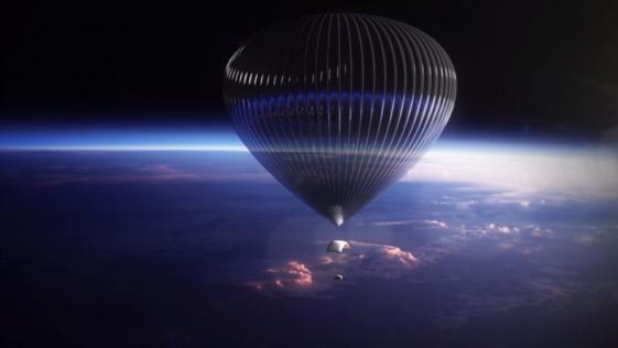 Paseos espaciales en globo por «solo» 55.000 euros