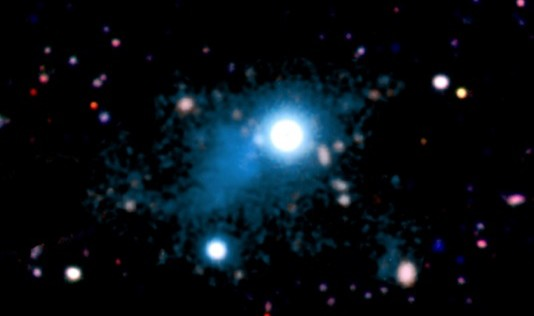 Primera imagen de la «telaraña cósmica» que une las galaxias