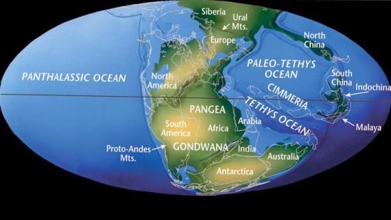 Identifican una parte de África en Norteamérica