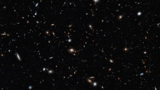 El Hubble fotografía una sección transversal del Universo