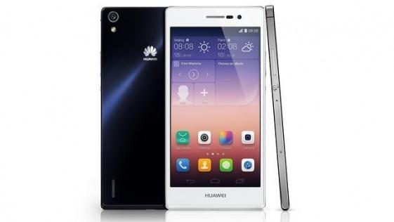 Huawei lanza el Ascend P7, enfocado en el diseño, selfies y «groufies»