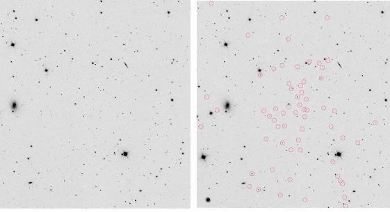 La galaxia «fantasma» que no fabrica estrellas