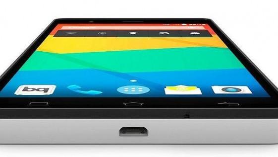 Bq presenta su gama E, los primeros «smartphones» diseñados en España