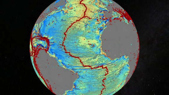 Descubren miles de nuevas montañas en el fondo del mar