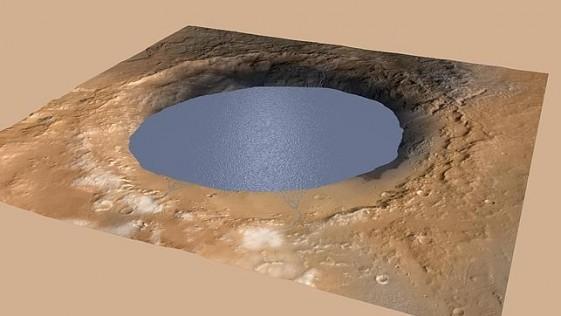 Marte albergó grandes lagos durante decenas de millones de años