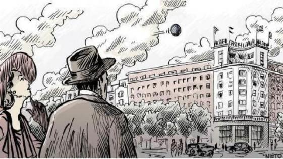 La misteriosa esfera negra que surcó el cielo de Madrid durante el verano de 1955