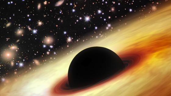 Un «monstruo» espacial en los orígenes del Universo