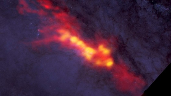 Las galaxias que fabrican mil veces más estrellas que la Vía Láctea