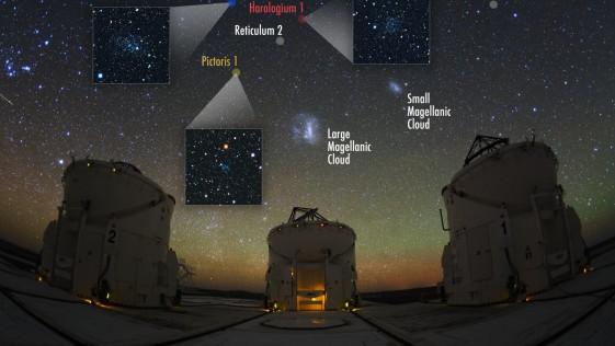 Hallan un grupo de galaxias satélite de la Vía Láctea hechas de materia oscura