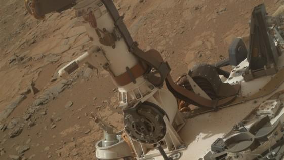 En Marte hay agua líquida durante la noche