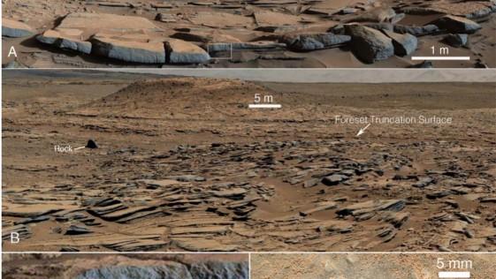 El «Curiosity» descubre antiguos deltas y lagos en Marte