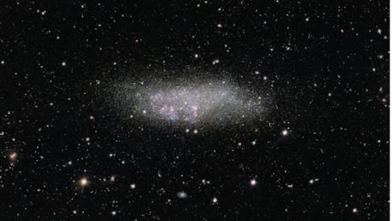 El secreto de la galaxia solitaria