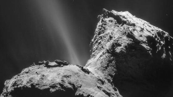 El componente básico del ARN pudo surgir en los cometas