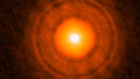¿Es esta la foto de un planeta en formación?