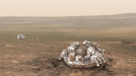 Todo listo para el primer desembarco europeo en Marte