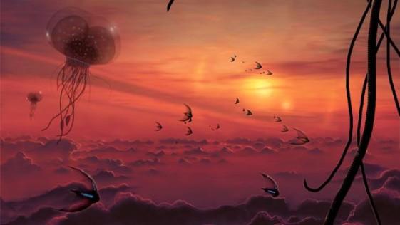 Criaturas atmosféricas, el «otro tipo» de vida extraterrestre