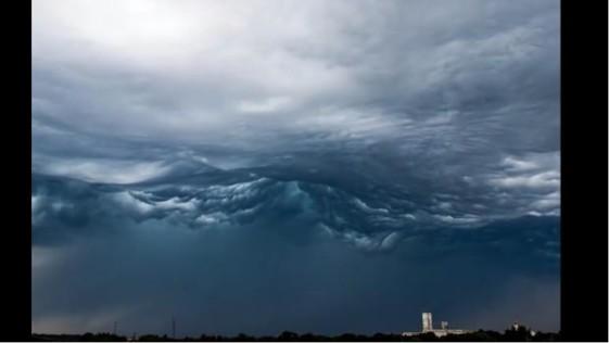 Asperitas, la extraña nube que hipnotiza