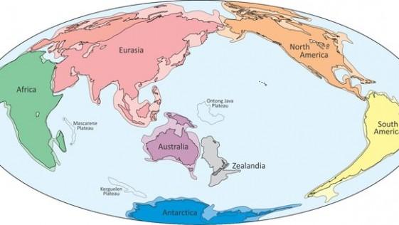 Localizan Zelandia, el octavo continente de la Tierra
