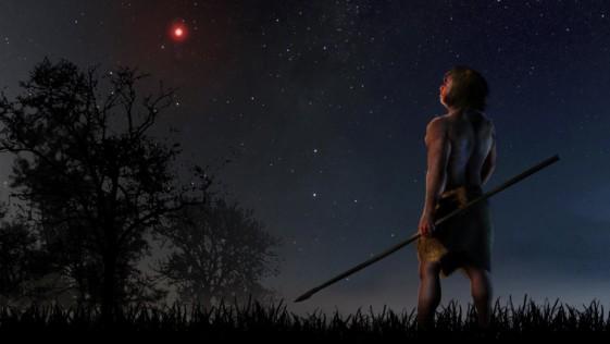 Una estrella cruzó el Sistema Solar hace 70.000 años