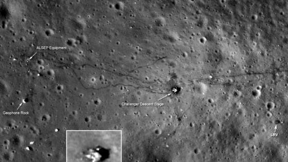 Resuelto el último «misterio lunar» de las misiones Apolo Resuelto el último «misterio lunar» de las misiones Apolo