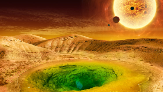 La NASA publica una guía para encontrar vida extraterrestre