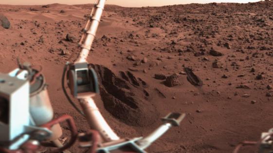 Hace cuarenta años, la NASA quemó por error la mejor evidencia de vida en Marte