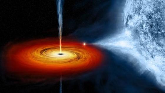 Testigos del nacimiento de un agujero negro