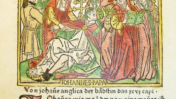 ¿Es cierta la leyenda de la Papisa Juana?