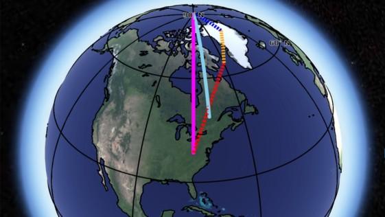 22-09-2018 a las 04.50h. Comentar Por qué se desvía el eje de rotación de la Tierra