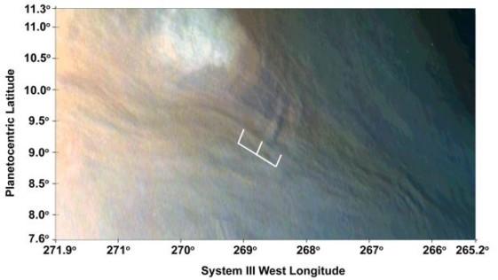 Detectan olas de 10 km de altura en la atmósfera de Júpiter
