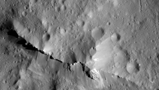 Descubren que la superficie de Ceres está «repleta» de materia orgánica