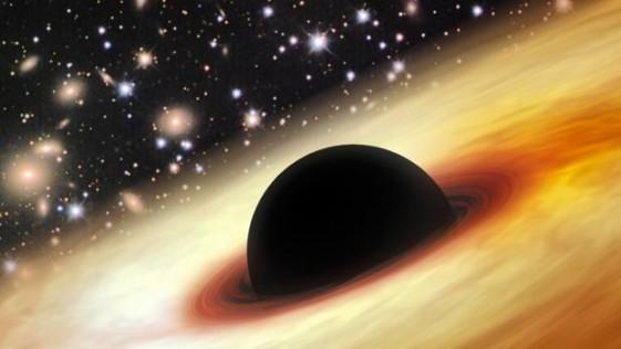 ¿Están los agujeros negros enviando materia al futuro?