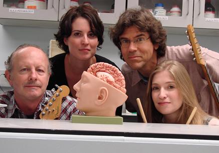 El cerebro a ritmo de rock