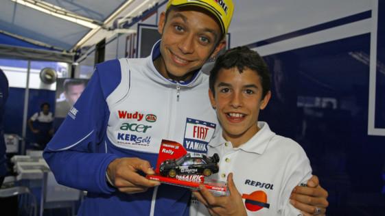 Márquez, camino de superar a Rossi y cazar a Agostini