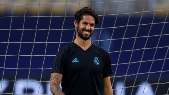 Isco renovó con el Real Madrid hasta 2022