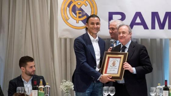 Efigenio Albadalejo, más que un padre para muchos futbolistas del Real Madrid
