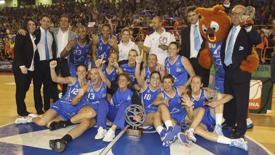 El increíble final de la liga femenina de baloncesto