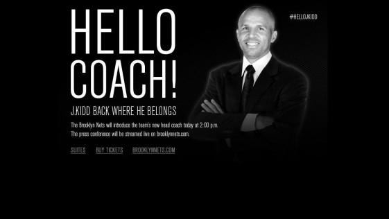 Jason Kidd, entrenador a la carrera