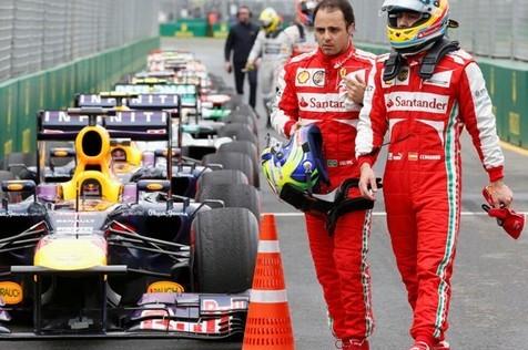 Paz y luz en Ferrari