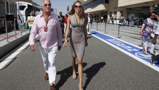 John Button, un padre feliz en la F1