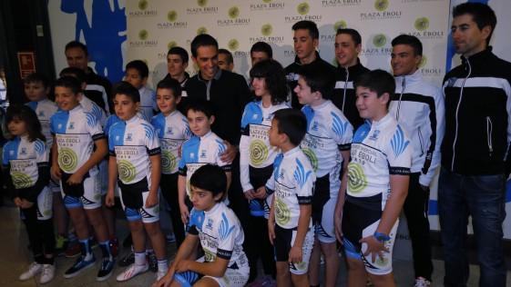Contador crea cantera