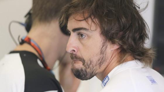 Alonso ya no está tan feliz