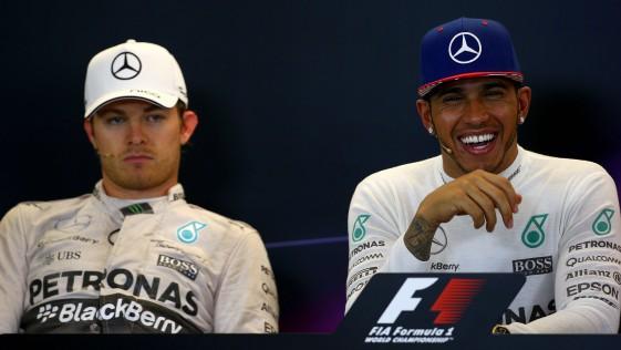 El cenizo Rosberg