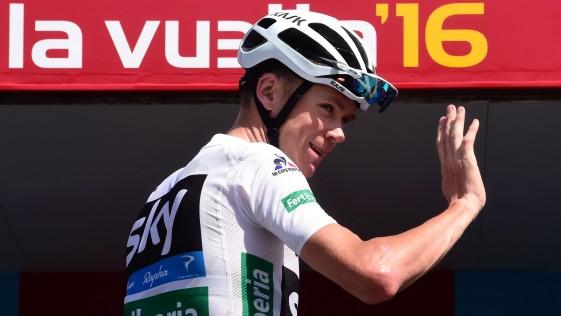 Froome honró la Vuelta