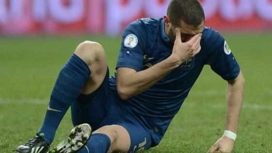Benzema: El gato triste y azul