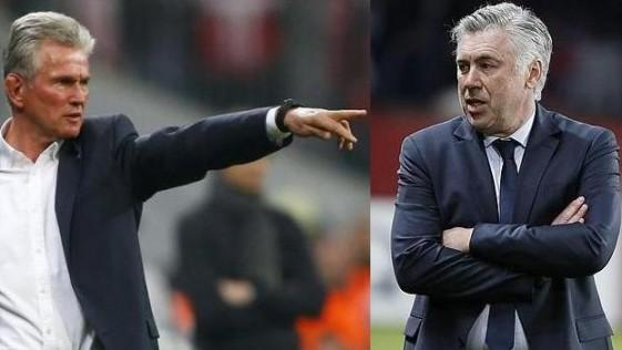 Currículum de Ancelotti vs Currículum de Heynckes