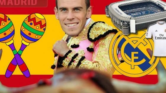 El «Daily Mirror» se mofa de Bale y le viste de torero