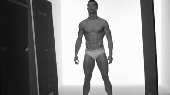 El desnudo de Cristiano Ronaldo